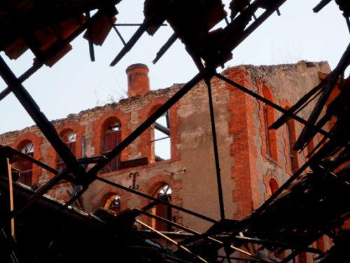 état actuel des bâtiments