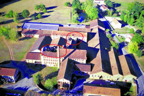 état de la toiture en 2011